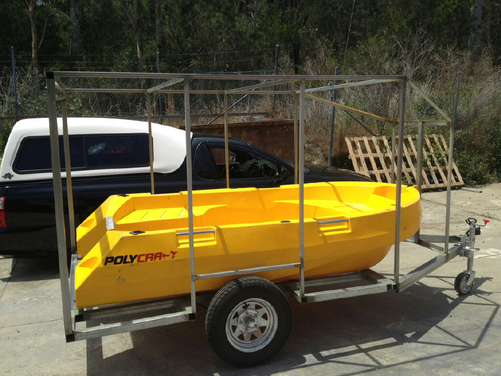 New home for the yellow boat
