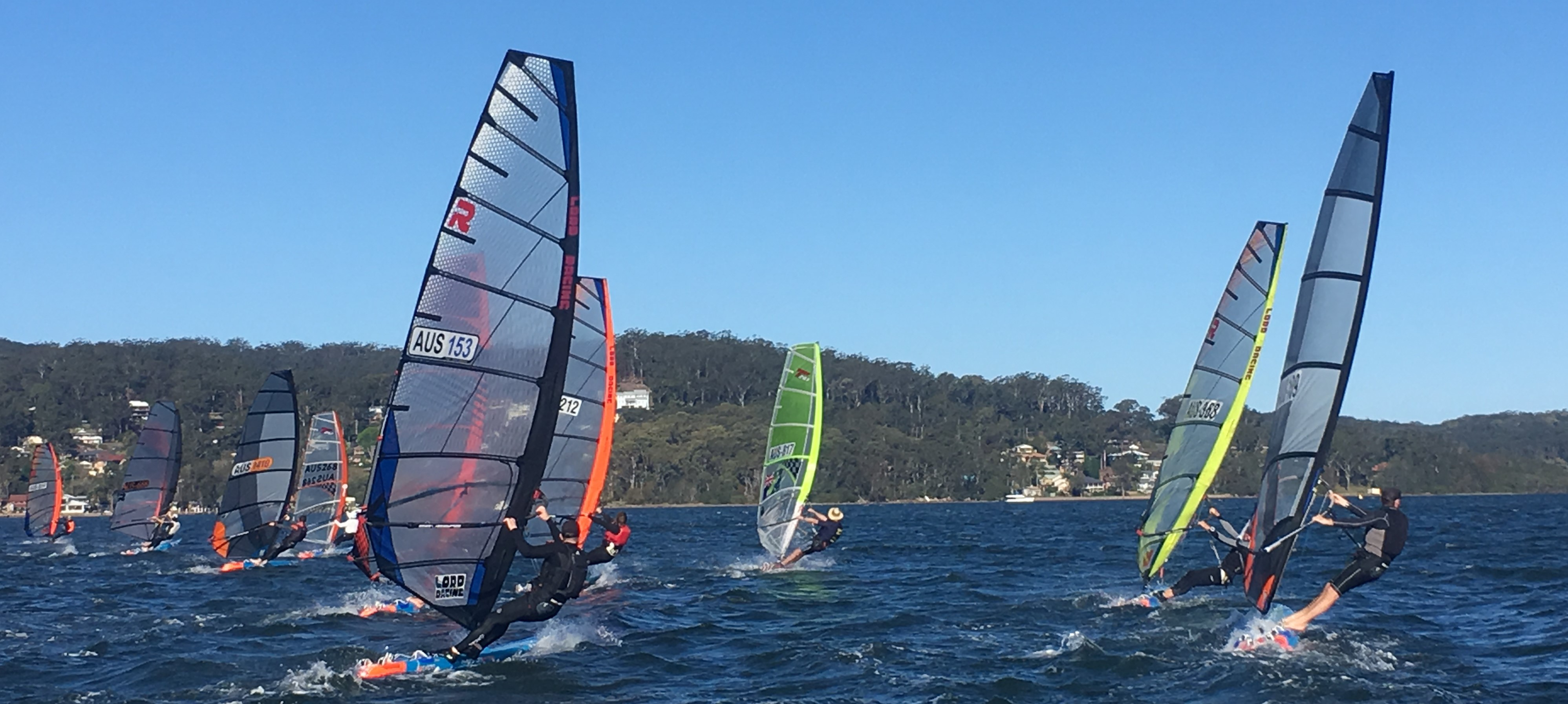Starboard Severne WSS Boards Raceboard Series round 1